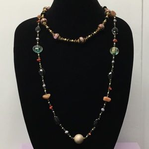 Jewelry - 3/$20 Beaded Choker style multicolor Necklace